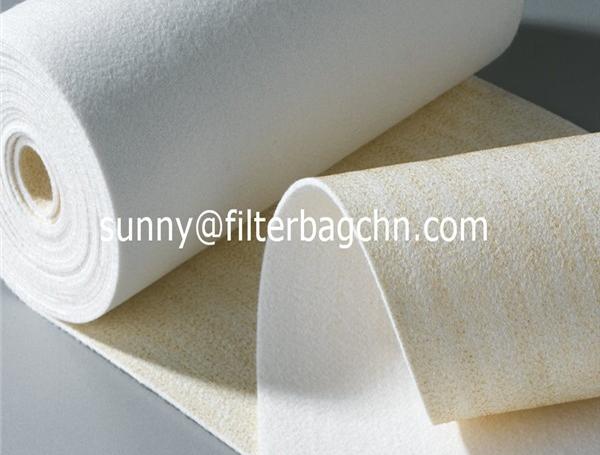 High Temperature Fire Resistance Meta Aramid Filter Cloth